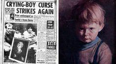 (adsbygoogle = window.adsbygoogle || []).push();   En Inglaterra, en 1985, una serie de incendios extraños se desataron, destruyendo muchas casas y negocios. El vínculo entre los incendios era una colección de pinturas, conocidos como 'Los niños llorones'. A parte de la...