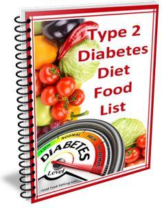Type 2 Diabetes Diet Food List