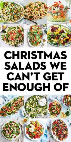 100 Christmas salads we can't get enough of - Salad Recipes Xmas Food, Christmas Cooking, Healthy Christmas Party Food, Christmas Salad Recipes, Best Christmas Recipes, Xmas Recipes, Perfect Mashed Potatoes, Healthy Snacks, Healthy Recipes