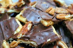 20 recipes for Passover-friendly desserts, including toffee chocolate matzoh which is absolutely DIVINE