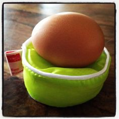 Egg Pillow - just so your egg can be comfy