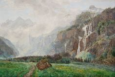 Janus La Cour (1837-1909): From Kandersteg in Switzerland
