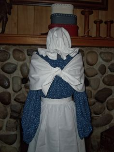 Ladies Colonial Dress Costume Civil War Pioneer by alottocollect, $68.00