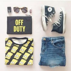 Off duty as tshirt