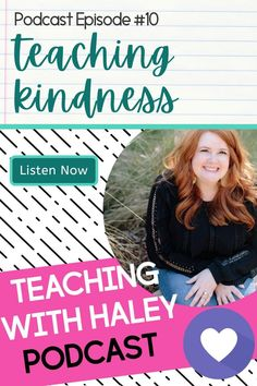 Episode Notes: Today we'll start our series on teaching kindness in the classroom. I will share a few definitions you can use with your students, as well as some important research about teaching kindness to our young learners. | The Teaching with Haley Podcast is for new & experienced teachers who believe positive relationships & strong classroom community affect academics. We'll discuss social-emotional learning, making strong connections, engaging students and their families