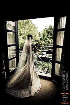 Bridal Portrait at a Bellevue Club Wedding