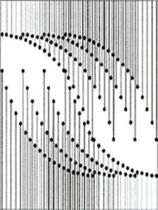 平面构成[基础含义]_互动百科 Wave Pattern, Pattern Art, Abstract Pattern, Pattern Design, Dots Design, Circle Design, Design Art, Dot Painting Tools, Dot Art Painting