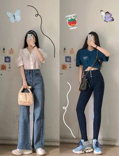 Korean Casual Outfits, Korean Outfit Street Styles, Cute Casual Outfits, Simple Outfits, Pretty Outfits, Korean Girl Fashion, Korean Street Fashion, Ulzzang Fashion, Kpop Fashion Outfits