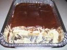 Low Fat Chocolate Eclair Cake