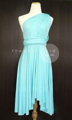 Hey, I found this really awesome Etsy listing at https://www.etsy.com/listing/155734021/sky-blue-bridesmaid-convertible-dress