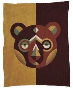 Bear Fleecedecke