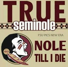 Hate the new logo, but I will have to accept it. Nole til death!