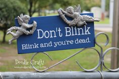 Doodle Craft...: Doctor Who Week #3: Don't Blink!