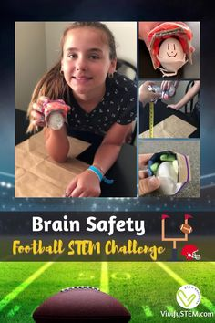 """It's football season! Challenge your students to create a safer football helmet for their adorable """"egg"""" players. Using the engineering design process, teams of students design, create, and test pint-sized football helmets. Your classroom will have a whole squad when this STEM challenge is complete. But will all of their players make the cut? Fun Math Activities, Math Games For Kids, Engineering Design Process, Stem Challenges, Teaching Tips, Football Season, Math Lessons, Some Fun, Football Helmets"""