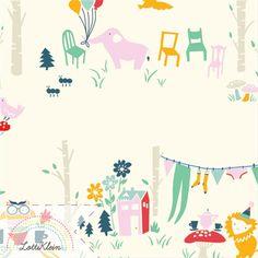 Everyday Party-Birch Fabrics-Bio Stoff GOTS Jersey von LottiKlein auf DaWanda.com