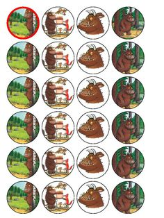 Party Bits 2 Go - Party Decorations and Party Supplies Gruffalo Party, The Gruffalo, 1st Birthday Cupcakes, 2nd Birthday Parties, Cake Templates, Party Shop, Baby Party, Party Cakes, Party Printables