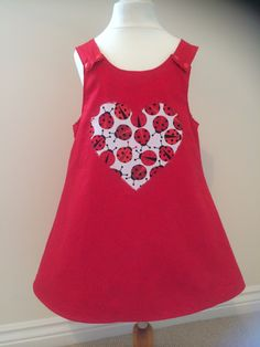 Reversible Pinafore Dress stocked @ Mini Moos June 2014