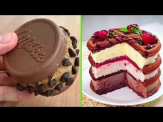 Amazing Chocolate Cake Decorating Style 2017! Most Satisfying Cake Video Ever - YouTube