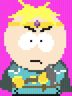 Butters Paladin - South Park Stick of Truth pattern