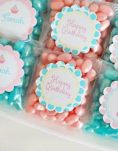 Festa do Cupcake: rosa e azul