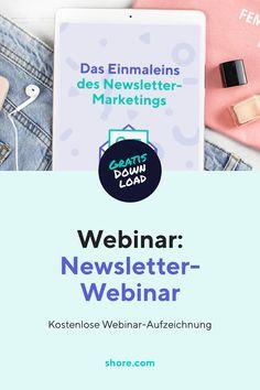 Welche Themen soll ich kommunizieren? Wie häufig sollte ich Newsletter verschicken? Was muss ich in puncto DSGVO beachten? Schau dir die kostenlose Webinar-Aufzeichnung rund um die Uhr an!