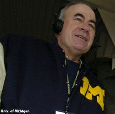 Frank Beckmann, the voice of Michigan football for the last 33 years, called his final game and turned off his microphone for the last time against Ohio State on 11/30/13.