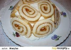 Koupená piškotová roláda, tvaroh a smetanový pudink,proložené banánem. Tiramisu, Pancakes, Breakfast, Food, Morning Coffee, Pancake, Meals, Yemek, Eten