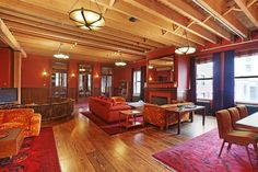 Tour Taylor Swift's Fabulous New York City Penthouse: The Living Room