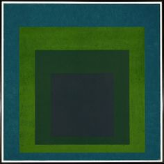 Josef Albers, Homage to the Square: Soft Spoken, 1969, oil on masonite, 121.9 x 121.9 cm (Metropolitan Museum of Art)