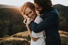 The dreamiest mountain elopement inspiration | Image by Myrtle & Moss Photography