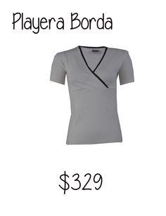 Playera Borda