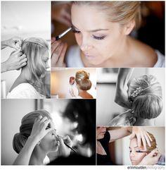 Beautiful wedding hair