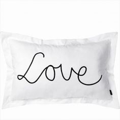 Riverdale Kussen Love XL wit 55x85cm