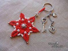 Macramé - © Embroidery of Fantasy Macrame Owl, Macrame Knots, Micro Macrame, Macrame Earrings, Macrame Jewelry, Macrame Bracelets, Handmade Accessories, Handmade Jewelry, Mandala