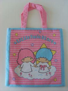 【1976】Tote Bag ★Little Twin Stars★