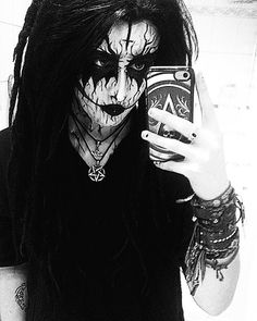 Featured band none Shopping list from this picture: Corpse paint: Amazon | Ebay Inverted pentagram pendant: Amazon | Ebay Thors hammer pendant: Amazon | Ebay  from:_myraluna_ At:http://ift.tt/1TRTKaO