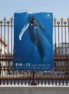 I really hate whale wars, with a passion in fact, but this poster is very clever.