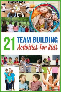 Team building activities for kids are a fun way to teach them cooperation and teamwork. Learn these games and exercises played both indoor and outdoor.