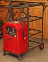 Building the Lincoln AC-225 Welder Shop Cart - NewMetalworker.com - How-To's