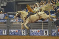 Live Rodeo action from #RODEOHOUSTON