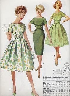 green trio by Millie Motts, via Flickr