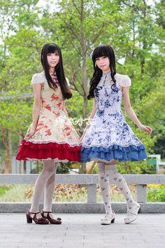"""""""Qi Lolita"""" the Lolita Fashion which Focuses on Mandarin Gowns.   KawaCura"""
