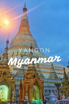 Shwedagon Pagoda   Yangon, Myanmar   Point and Shoot + Wanderlust