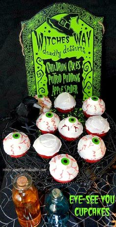 Great fun for a Halloween party.  So easy, quick and definitely an eye-stopper!  www.amothersshadow.com