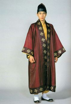 백제 귀족 남자의 복식 - Baekje nobility, man's costume Korean Traditional, Traditional Fashion, Traditional Outfits, Korean Outfits, Korean Clothes, Korean Art, Hanfu, Historical Clothing, Colorful Fashion