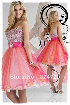 knee length prom dresses | ... knee length short prom dresses homecoming dress 30166 wholesale free