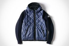 Stone Island Latest Delivery - Wool Nylon Chain Stitch Ice Jacket
