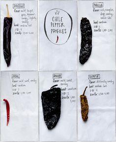Chile Pepper Profiles-- Installment One