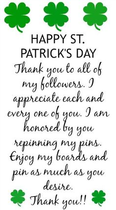 LOVE &  HAPPY ST PADDY'S DAY!!!!
