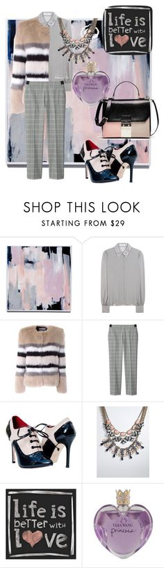 """""""LIFE IS BETTER WITH LOVE!!!!"""" by kskafida ❤ liked on Polyvore featuring moda, Dorothee Schumacher, AINEA, Uniqlo, Torrid, Universal Lighting and Decor, Vera Wang, women's clothing, women's fashion y women"""